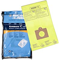 Home Care Products Kenmore 5055/50558 Bolsa de vacío de papel micro forrado, paquete de 10
