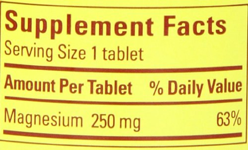 031604017187 - Nature Made Magnesium 250mg, 200 Tablets carousel main 1