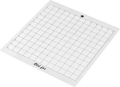 Aibecy - Alfombrilla de corte transparente con rejilla de medición de 12 x 12 pulgadas para máquina de trazador de silueta Cameo Paquete de 1pcs: Amazon.es: Hogar