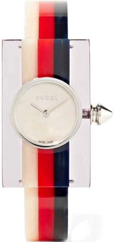 Gucci Plexiglas Reloj de Mujer Cuarzo Correa y Caja de acrílico YA143523