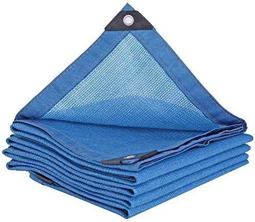 YZjk Shade Netting Black, 80% Sun Block Mesh Shade para Pergola Cover Canopy, Outdoor Garden Flower Plant Shade Cloth con Ojales, Azul, 3Mx3M: Amazon.es: Hogar