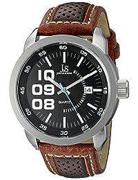 Joshua & Sons Men's JX106BR Analog Display Quartz Brown Watch