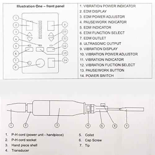 Rhegene Ultrasonic Polisher Machine Professional Multi-Function Mold Polishing Machine 110V by Rhegene (Image #1)