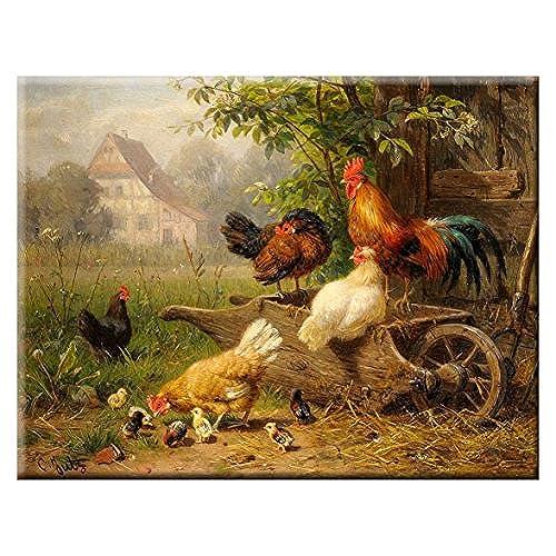 rooster artwork amazon com
