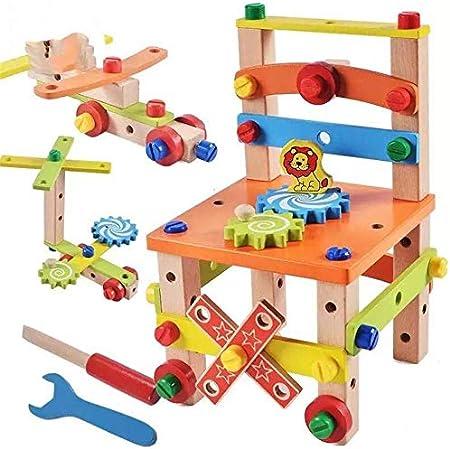 Costruire insieme di legno del martello giocattolo, Diy