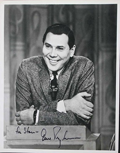 (Gene Rayburn (d. 1999) Signed Autographed Vintage Glossy 8x10 Photo