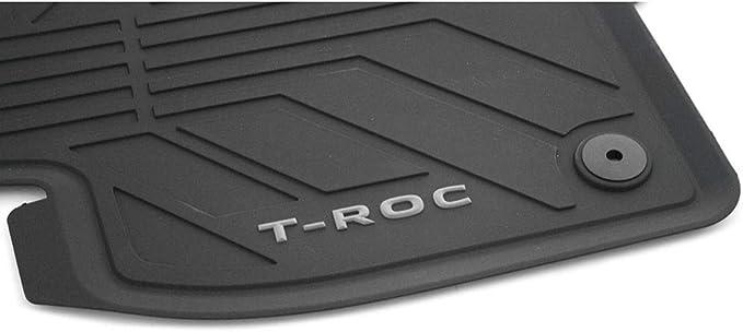 Volkswagen 2gc06150082v Allwettermatten Gummi Fußmatten 4x Gummimatten Für Vw T Roc Cabrio Auto