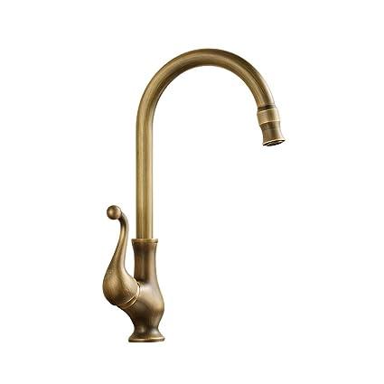 Coldtutu Modern Chrome Design Bathroom Sink Tap Basin Taps Antique