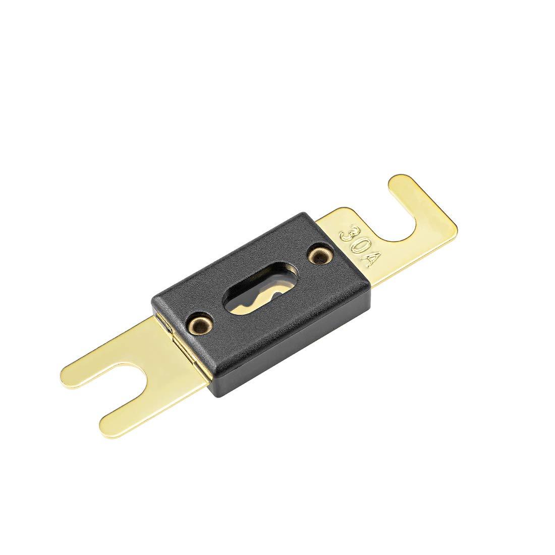 uxcell/® ANL Fuse 130 Amp DC 32 Volt for Automotive Car Vehicle Audio Amplifier Inverter Replacement 5pcs