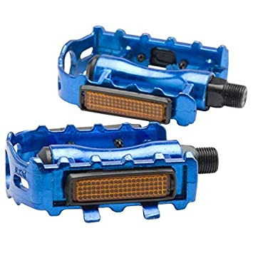 BEESCLOVER 1 Pair MTB Aluminium Alloy Mountain Bike Bicycle Cycling 9//16 Pedals Flat