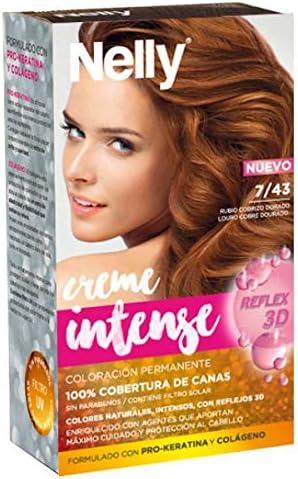 NELLY SET TINTE 7/43 RUBIO COBRIZO DORADO: Amazon.es: Belleza
