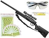 XXL Set Swiss Arms Black Eagle M6 Sniper Gewehr Softair + 5000 Kugel + Schutzbrille