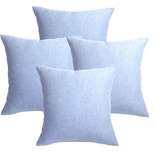 Light Blue Outdoor Cushions in US - 5