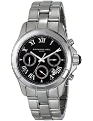 Raymond Weil Mens 7260-ST-00208 Parsifal Analog Display Swiss Automatic Silver Watch