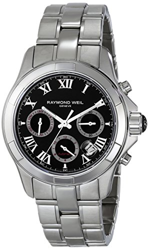 Raymond-Weil-Mens-7260-ST-00208-Parsifal-Analog-Display-Swiss-Automatic-Silver-Watch