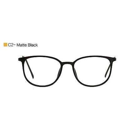 09e0786189 YMTP Gafas Ópticas Marcos Mujer Diseñador De Época Marco De Anteojos  Cuadrado Grande Ultraligero