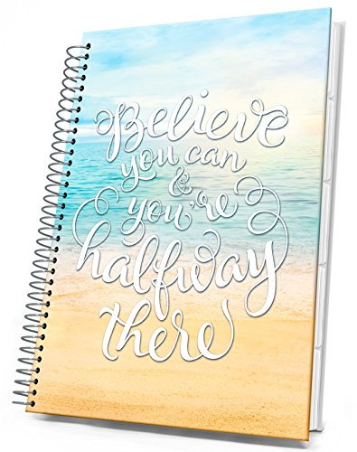 Tools4Wisdom Planner - Daily Weekly Monthly Organizer with April 2017 to March 2018 Calendar - 8.5 X 11 Hardcover with Tabs