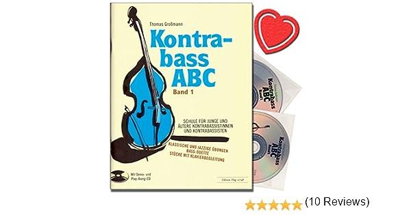 Contraste ABC Band 1 – Escuela de contrabajo con 2 CD – Escuela ...
