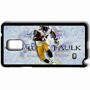 Personalized Samsung Note 4 Cell phone Case/Cover Skin 1200 st louis rams Black