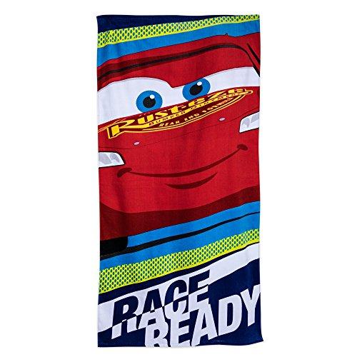 Disney Lightning McQueen Beach Towel for Kids - Red