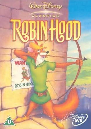 Robin Hood Disney Dvd Amazon Co Uk Brian Bedford Phil Harris