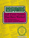 Resumes and Cover Letters That Have Worked!, , 1885288042