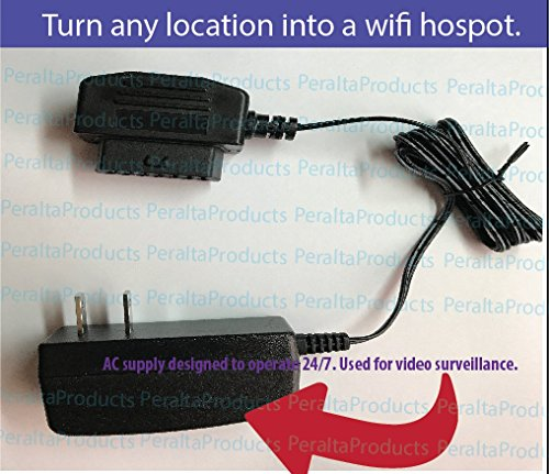 Price comparison product image PeraltaProducts AC Adapter for AT&T ZTE Mobley OBD 2 OBD2 LTE Wi-Fi Hotspot Device