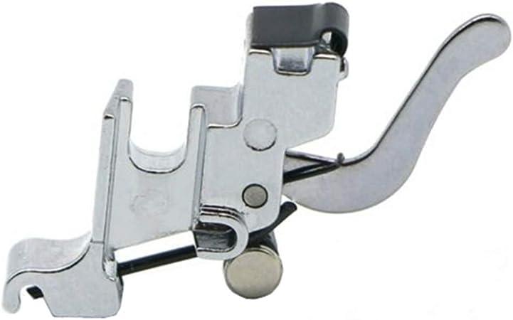 yeqin doméstica Máquina de coser prensatelas pie bajo filo prensatela de fijación a presión vástago 7300l adaptador de vástago de pie soporte: Amazon.es: Juguetes y juegos