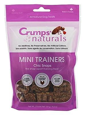 Crumps' Naturals MT-CS-120 Mini Trainers Chic Snaps (1 Pack), 120g/4.2 oz