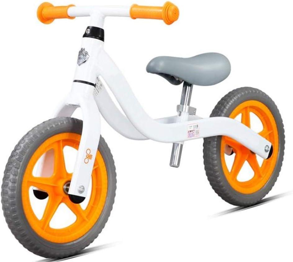 Andador de Bicicletas para Niños Bicicletas de equilibrio Niños Sin pedal Edad 1-6 Ligero Para caminar Aprendiendo bicicleta para chicos Chicas Neumáticos de espuma Fácil de Retraer ( Color : C )