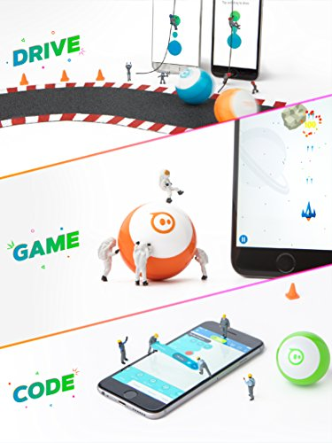 Sphero Mini Black: The App-Controlled Robot Ball [Amazon Exclusive]