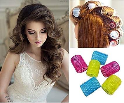 Majik Hair Roller Set Of 6 Medium Size For Women And Girls Amazon