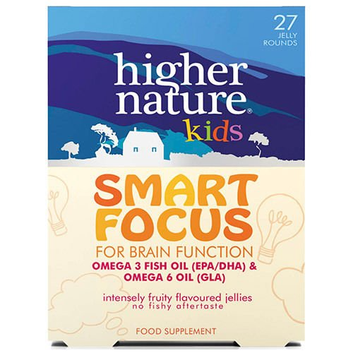 Higher Nature Kids Smart Focus Jellies - by Higher Nature