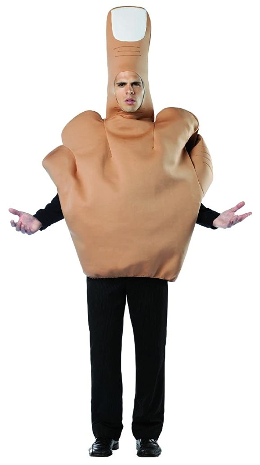 Men's Middle Finger Flip The Bird Halloween Costume
