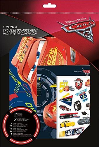 Sandylion Disney Cars 3 Fun Pack with Tattoos]()