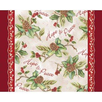 Amazon.com: Hope & Peace Christmas Paper Placemats 12 Per Pack ...