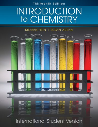 chapter 4 vocab foundations of college chemistry 14th edition hein arena 14th edition - wiley, 2014 - 602 p - learning the fundamentals of chemistry can be a difficult task to undertake for health professionals for over 35 years, this text has helped them master the chemistry skills they need to succeed.