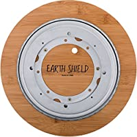 Essential Oil Wooden Storage Lazy Susan - bottom view