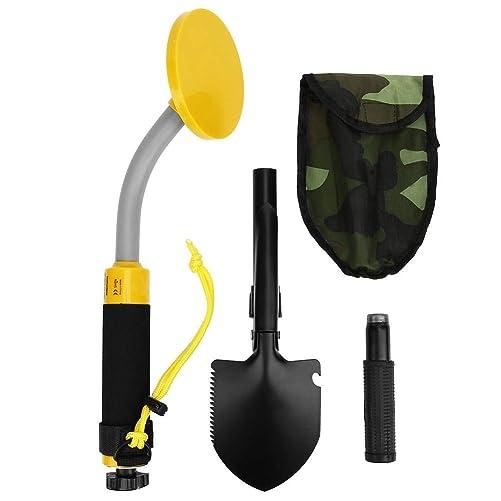 Metal Detector High Accuracy,Waterproof Handheld LED Metal Detector Pulse Induction Locator for Underwater Finding Treasure Tool
