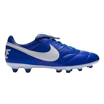 Nike Premier II Piel De Canguro Suela FG Azul/Blanco Adulto