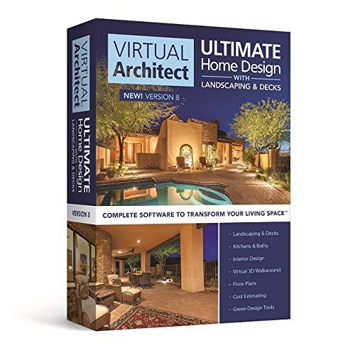 amazon com virtual architect ultimate home design with landscaping rh amazon com virtual architect ultimate home design 7.0 review virtual architect ultimate home design software reviews