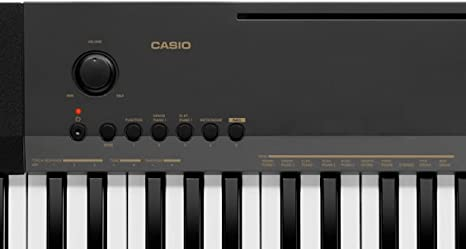 Casio CDP130 - Piano digital con 10 tonos, metrónomo integrado y efectos digitales, color negro