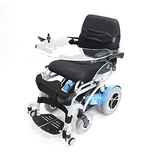Karman Power Standing Wheelchair with Removable Tray Seat, 18 Inch