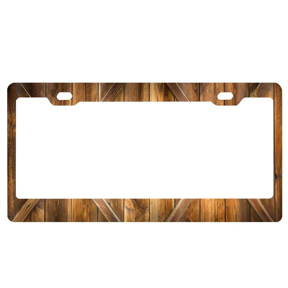 Blessed License Plate Cover Decorative Car Tag Sign Metal Auto Tag Novelty License Plate