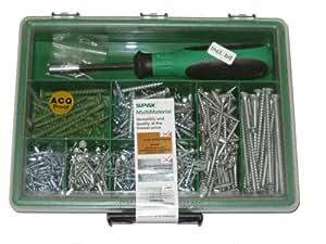 SPAX Multi-Material Screw Assortment Kit, Large
