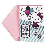 Hallmark Birthday Card for Girls (Hello Kitty)