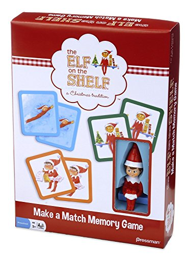 Elf on the Shelf Make-a-Match Game -- Based on the Bestselling Books - Homemade Elf Costumes For Girls