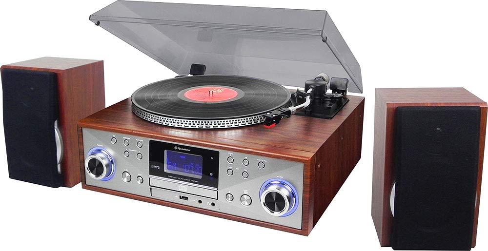 Roadstar HIF-8899BT Madera tocadisco: Amazon.es: Electrónica