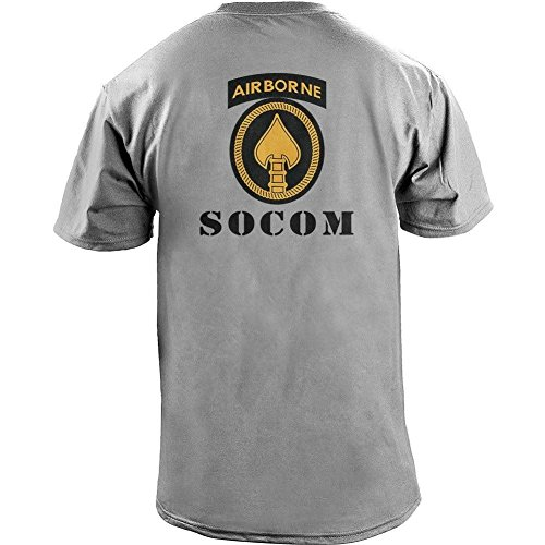 Army SOCOM Color Veteran T Shirt