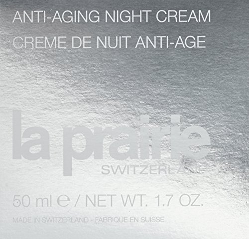 51TXGWmz5SL - La Prairie Anti-Aging Night Cream for Unisex, 1.7 Ounce